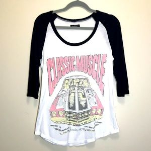 Lauren Moshi Baseball T-shirt